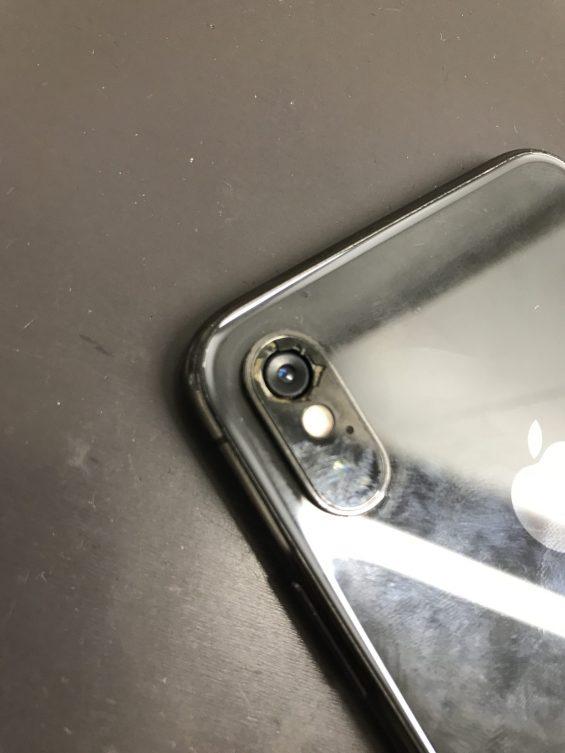 iPhoneXのカメラ交換