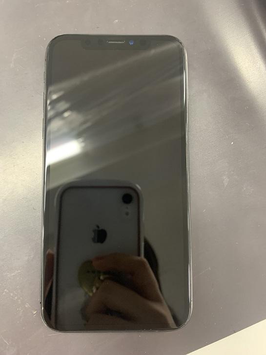 修理後のiPhoneXS