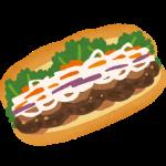 ベトナムのサンドイッチはいかがでしょうか