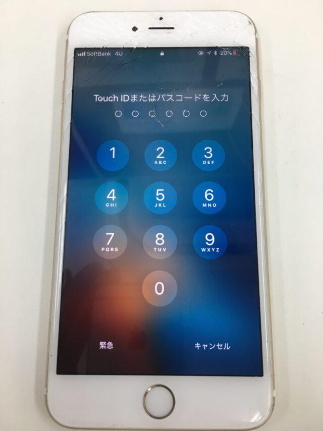 iPhone6sPlus 画面交換前