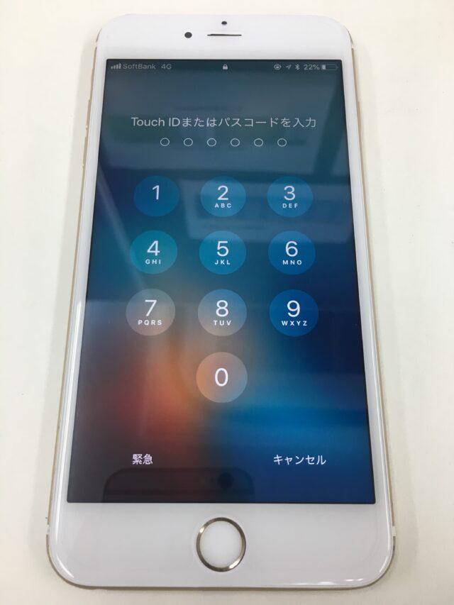 iPhone6sPlus 画面交換後