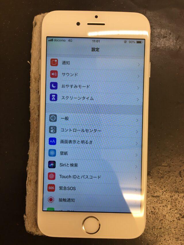 iPhone7 表示不良 修理後